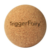 Trigger Fairy® Cork Massage Ball Fascia Ball. Natural Trigger Point and FASCIAE Self Massager for Neck, Shoulders, Back, Buttocks and Feet.