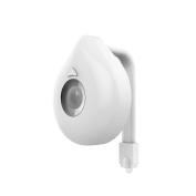 PAWACA Toilet Night Light, Motion Activated Toilet Night Light - 8 Colours for Washroom Bathroom
