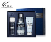 AHC HYDRA B5 SOOTHER GIFT SET (Hyaluronic Toner 30ml + Hydra B5 Soother Serum 30ml + Hyaluronic Cream 30ml), Helping to Hydrate the Skin by Gathering Moisture on the Rough Skin.