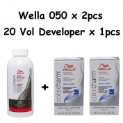 Wella Colour Charm 050 Cooling Violet 2-Pack with Cream 20 Developer 110ml