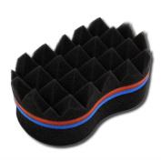 NIRVANA Barber Hair Sponge Brush Twist Make Dreads Locking Twist Coil Afro Curl Magic Locs Beauty Tool