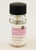Perfect Formula My Favourite TopCoat Top Coat High Gloss Finish .500ml Mini Travel Size Unboxed