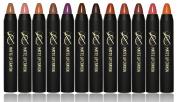 SXC Cosmetics Velvet Matte Lipstick Crayon, Paraben/Talc Free, 12 Timeless Colour Collection