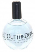 INM - Out The Door Fast Drying Nail Top Coat Refill Without Brush 120ml - 1pc Bottle.