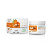 Yes To Carrots Normal To Dry Skin, Fragrance Free, Intense Hydration Night Cream, 50ml by Yes To Carrots