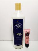 Zero Frizz 100% Rescue Instant Smooth Shampoo - 12 oz- Free Starry Lip plumping gloss 10ml