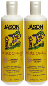 Jason For Kids Only! Extra Gentle Shampoo, 520ml, 2 pk