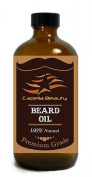 Beard Oil for Men – Grooms Beard, Moustache, boosts hair growth. Makes your Beard soft, smooth, healthy and mess-free. Moisturises coarse hair, stops skin itches, 100% natural.