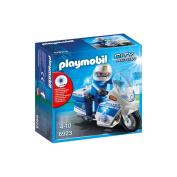 Playmobil 6923 City Action Police Bike Figure with Flashing Light and Policeman
