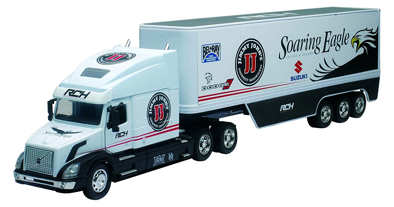 Team Ray Trucks >> New Ray 1 32 Scale Volvo R Ch Team Suzuki Truck Diecast Model