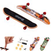 Professional Mini Fingerboards, Tonsee 5Pcs Mini Finger Board Micro Skateboard & Boring Decompression Toys