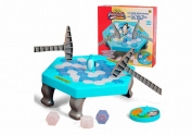 Penguin Trap Board Game Ice Breaking Save Kids Early Education Board Game Toy-Penguin Trap Activate Mini Table Game-HOWATE