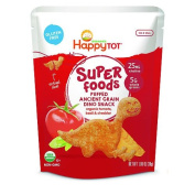 Happy Tot Organic Tomato Basil & Cheddar Super Foods Dino Baby