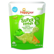 Happy Tot Organic Kale Spinach & Cheddar Super Foods Dino Baby