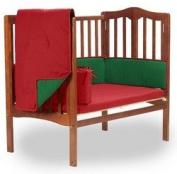 Reversible Portable Crib Bedding, colour