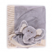 Blankie with Rattle and Blanket Set