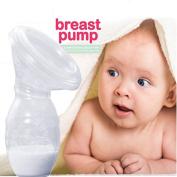 Newsfana Manual Breast Pump Milk Pump 100% Food Grade Silicone BPA PVC and Phthalate Free