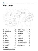 BelleMa Effective/Mango/MangoPlus Electric Breast Pump Replacement Parts