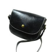 Aritone Retro Women Messenger Bags Chain Shoulder Bag Leather Crossbody New