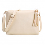 Aritone Women Tassel Leather Bag Crossbody Shoulder Messenger Bags