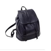 Aritone Fashion Women Leather Satchel Shoulder Backpack School Rucksack Bags Travel