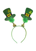 st patricks day irish shamrock head boppers