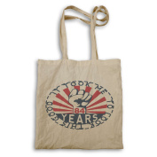 It Took Me 84 Years To Look This Good Iron Fist Tote bag mm18r