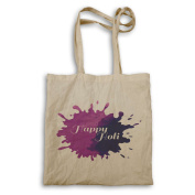 happy holi Novelty Funny Tote bag mm24r
