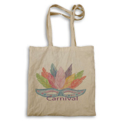 Brazil Carnival Day Water Colours Novelty Funny Tote bag mm70r