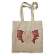 Girls Are Born In 1982 Cute Bow Novelty Tote bag ll23r