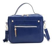 Xjp Women PU Leather Shoulder Bag Messenger Bag Crossbody Handbag