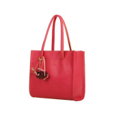 Women's Handbag , Xjp Fashionable Leather Single Shoulder Bag Tote Bag Red