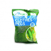 EcoForce - Recycled Clothes Pegs - 24pack