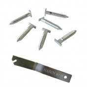 T-Screw | T-Head Security Screw for T-Lock picture security - 100 Pack with Free Wrench