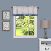 Achim Home Furnishings Camden Window Curtain Valance, 150cm x 36cm , Blue