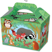 10 Party Boxes -Themed Character Loot Treat Box - 12 Designs - plus 10 FREE Diamante Crafts Party Bags