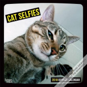 2018 Cat Selfies Wall Calendar