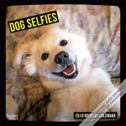 2018 Dog Selfies Wall Calendar