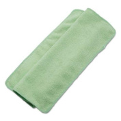 UNISAN 16GRECLOTH Lightweight Microfiber Cleaning Cloths, Green,16 x 16, 24/Pack