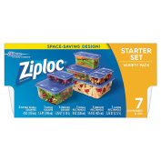 Ziploc Variety Starter Container, 7 Count
