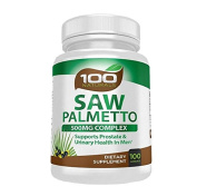 Pure Saw Palmetto - 500mg Berry Extract Capsule- For Prostate & Urinary Health, Hair Loss Benefits