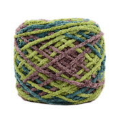 3 Pcs Cotton Yarns Knitting Kits Crochet Supplies for Sweaters/Hats/Scarves/Slippers, #06