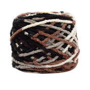 3 Pcs Cotton Yarns Knitting Kits Crochet Supplies for Sweaters/Hats/Scarves/Slippers, #08
