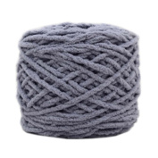Set of 3 Soft Handmade Gift Crochet Knitted Scarf Kit Cotton Yarns DIY Supplies for Beginners, #03