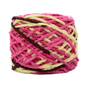 3 Pcs Cotton Yarns Knitting Kits Crochet Supplies for Sweaters/Hats/Scarves/Slippers, #14