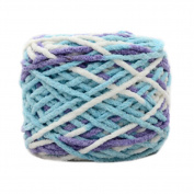 3 Pcs Cotton Yarns Knitting Kits Crochet Supplies for Sweaters/Hats/Scarves/Slippers, #12