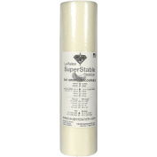 Fusible Mesh Stabiliser 45ml 38cm x 25 Yard Roll. SuperStable Fuse Embroidery Stabiliser Backing