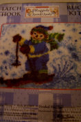 MCG Raggedy Ann and Andy Latch Hook Rug Kit Andy Snow Skiing