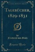 Tagebucher, 1829-1831  [GER]