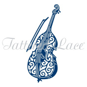 Essentials by Tattered Lace Dies ~ Jazz Double Bass, TTLETL555